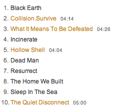 Dayseeker What It Means To Be Defeated tracklisting